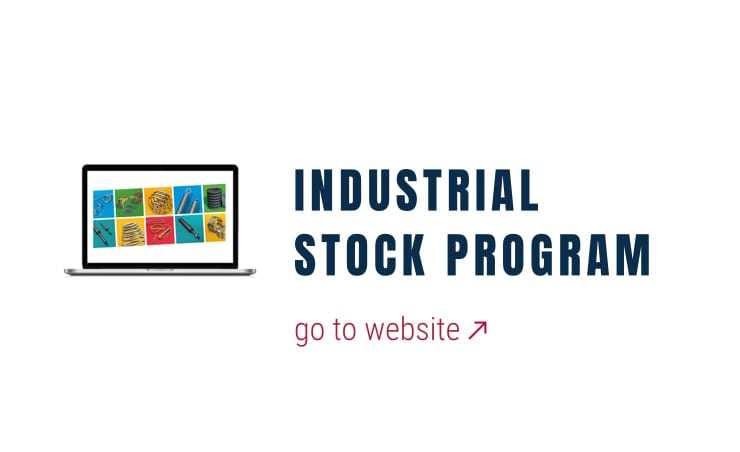 Industrial gas spring stock program